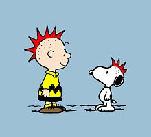 Snoopy and Charlie Brown Punk T-Shirt