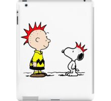 Snoopy and Charlie Brown Punk iPad Case/Skin