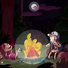 Gravity Falls: The camping Trip by KickiestCrafts