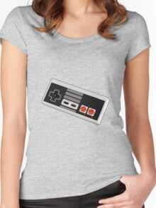 Game controller Women's Fitted Scoop T-Shirt