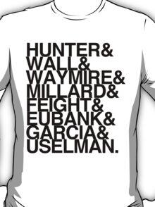 JUNIOR TEACHERS BLACK FONT T-Shirt