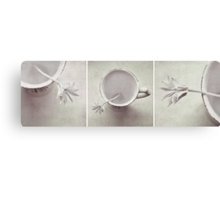 LESS IS MORE - Triptych Canvas Print