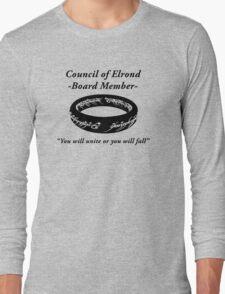 Council of Elrond Member Long Sleeve T-Shirt