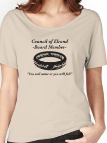 Council of Elrond Member Women's Relaxed Fit T-Shirt