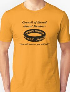 Council of Elrond Member Unisex T-Shirt
