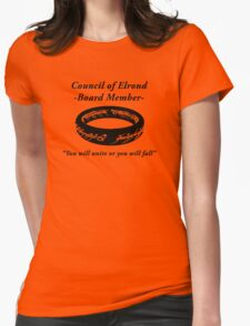 Council of Elrond Member Womens Fitted T-Shirt