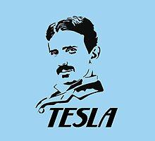 Nikola Tesla by SmOl