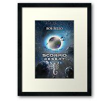 Scorpio Desert Framed Print