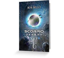 Scorpio Desert Greeting Card
