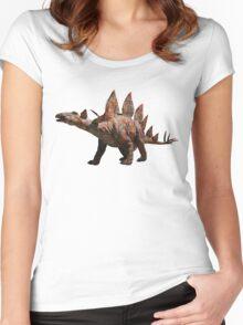 T-Carpetosaurus Women's Fitted Scoop T-Shirt