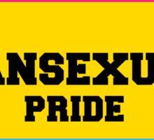pansexual pride Sticker