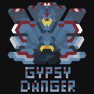 Pacific Rim Jeager - Gypsy Danger by Joshua  Smyth