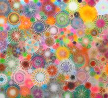 Childhood Dreams - shiney Spirograph Art by RachelEDesigns