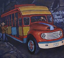 TIjuana Taxi by Michael Beckett