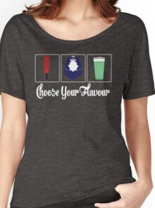Choose Your Flavour Women's Relaxed Fit T-Shirt