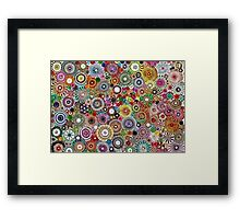 Childhood Dreams - Painted Spirograph Art Framed Print
