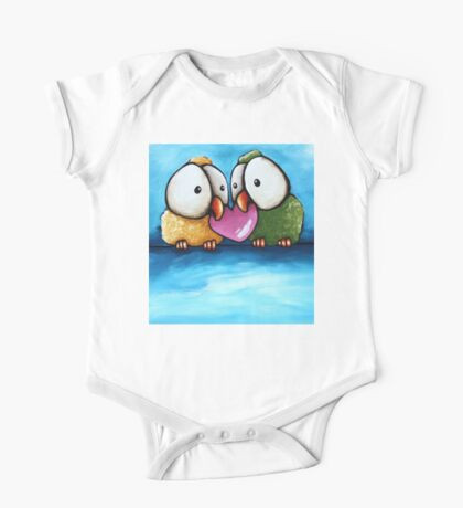 Love birds One Piece - Short Sleeve