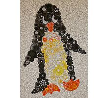 Spirograph Penguin with Filter Photographic Print