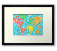Paint the World Framed Print