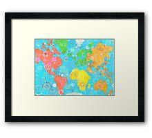 Paint the World Framed Print