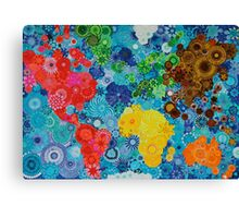 Smudge the World! Canvas Print