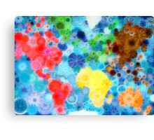 Glittering up the world! Canvas Print
