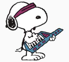Keytar Snoopy by CeaserTee