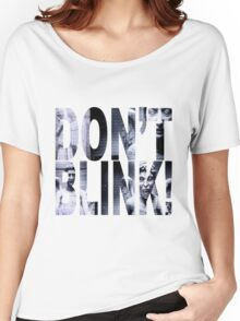 Weeping Angels - Don't Blink!! Women's Relaxed Fit T-Shirt