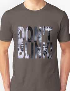 Weeping Angels - Don't Blink!! T-Shirt