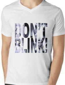 Weeping Angels - Don't Blink!! Mens V-Neck T-Shirt