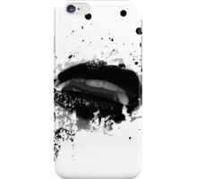 Gothic Vampire Fangs iPhone Case/Skin
