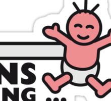 Twins Loading Sticker