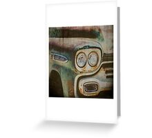 Vintage Chevrolet Apache Truck Greeting Card