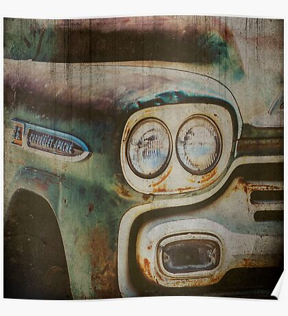 Vintage Chevrolet Apache Truck Poster