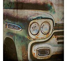 Vintage Chevrolet Apache Truck Photographic Print
