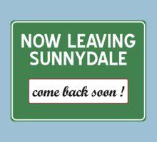 Now leaving Sunnydale (Buffy) Kids Tee