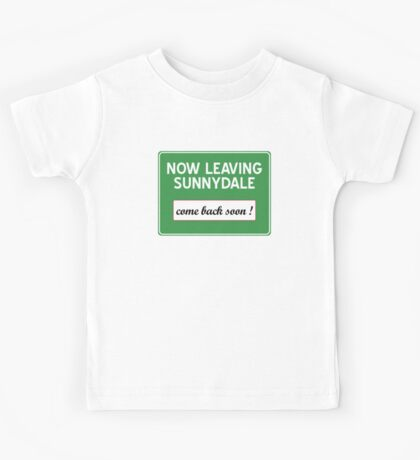 Now leaving Sunnydale (Buffy) Kids Tee
