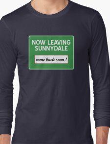 Now leaving Sunnydale (Buffy) Long Sleeve T-Shirt