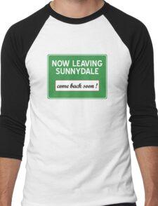 Now leaving Sunnydale (Buffy) Men's Baseball ¾ T-Shirt