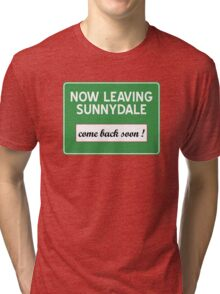 Now leaving Sunnydale (Buffy) Tri-blend T-Shirt