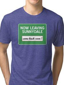 Now leaving Sunnydale (Buffy) Tri-blend T-Shirt