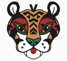 Aztec Tiger Totem Kids Clothes