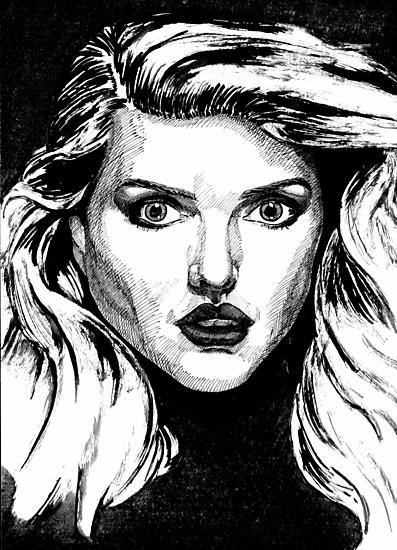 Debbie Harry by AdagioArt