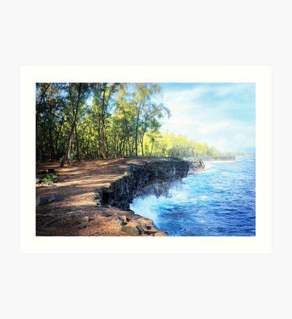 Kaloli Point, Hawai'i Art Print