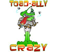 Crazy Toad Photographic Print