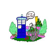 Doctor Who in OZ Photographic Print