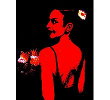The Bridesmaid: Red Photographic Print