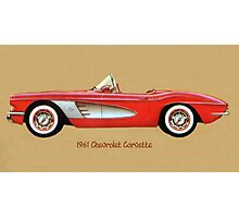 1961 Corvette Photographic Print
