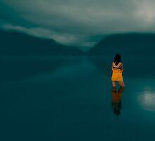 Lake Rotoiti at Dawn by Robyn Carter