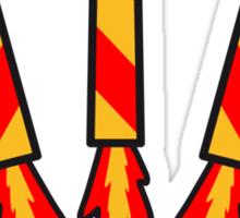 Firework Rockets Sticker